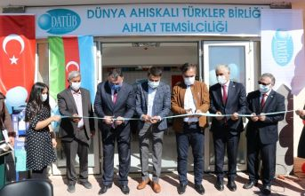 Ahlat'ta DATÜB Temsilciliği Açıldı