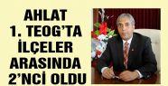 AHLAT 1. TEOG'TA İLÇELER ARASINDA 2'NCİ...