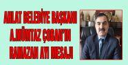 AHLAT BELEDİYE BAŞKANI A.MÜMTAZ ÇOBAN'IN...