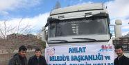 AK PARTİ AHLAT GENÇLİK KOLLARINDAN HALEP'E...