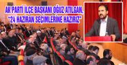 AK PARTİ SEÇİM STARTINI AHLAT'TAN VERDİ...