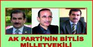 AK PARTİ'NİN BİTLİS MİLLETVEKİLİ...