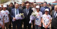 VALİ USTAOĞLU'NDAN AHLAT'A ZİYARET...