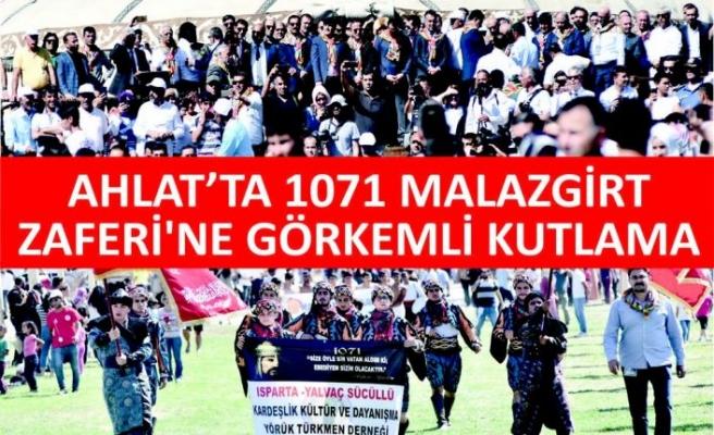 Ahlat'ta 1071 Malazgirt Zaferi'ne Görkemli Kutlama