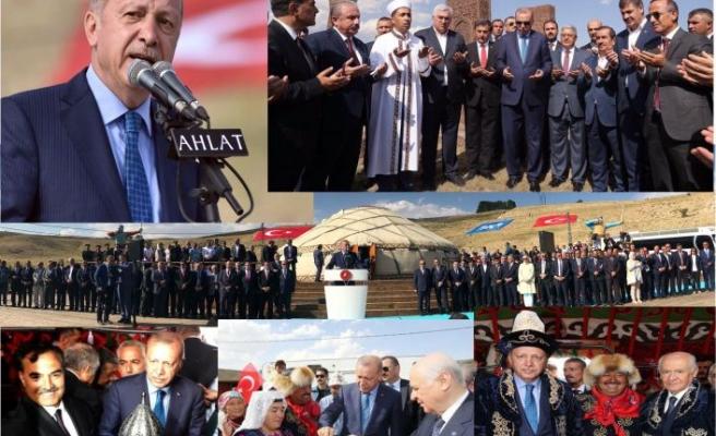 """Cumhurbaşkanı Erdoğan: """"Ahlat'ı Tanımadan Türkiye'yi Tanıyorum Demeyin"""""""