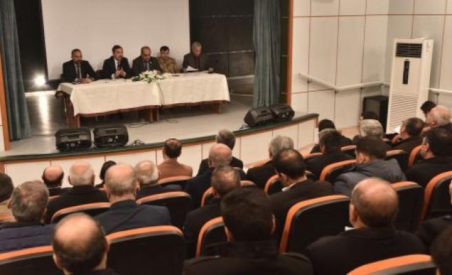 AHLAT'TA OKUL GÜVENLİĞİ TOPLANTISI DÜZENLENDİ