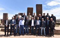 MEB Müfettişleri Ahlat'ın Tarihi Mekanlarını Gezdi