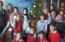 """Öğrenciler """"İyilik Ağacı"""" Projesiyle İyilikleri..."""