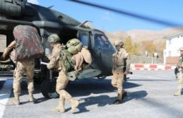 Bitlis'te 'Yıldırım-15 Mutki-Sarpkaya Operasyonu'...