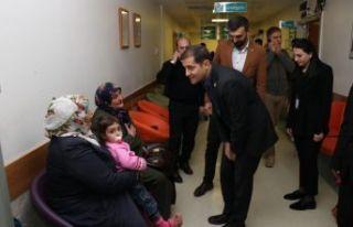 Kaymakam Erat'tan Sağlık Kuruluşlarına Ziyaret