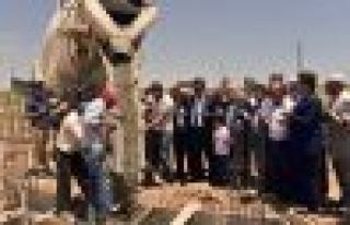 AHLAT'IN 32'NCİ CAMİSİNİN TEMELİ ATILDI