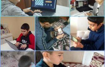 Ortaokul Öğrencileri Arasında Sanal Satranç Turnuvası Düzenlendi