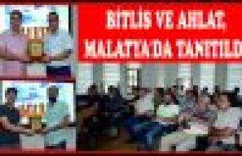 BİTLİS VE AHLAT, MALATYA'DA TANITILDI