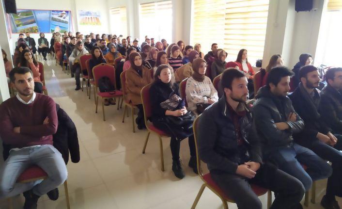 Ahlat'ta Aday Öğretmen Yetiştirme Seminerleri Başladı