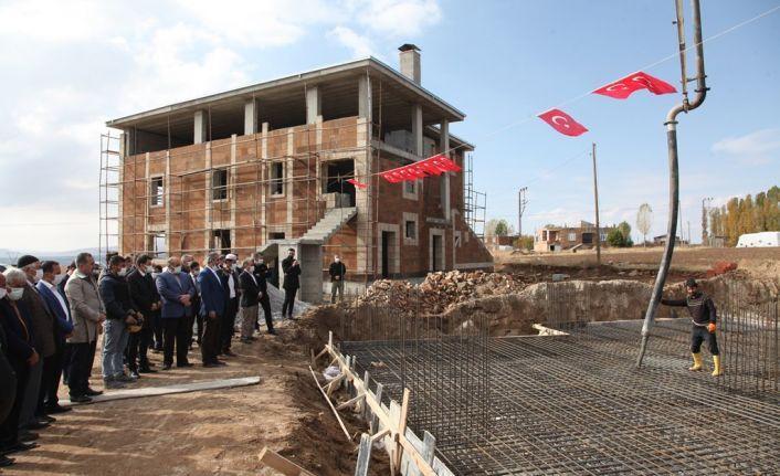 Şehit Eren Öztürk'ün Vasiyeti Olan Caminin Yanına Kur'an Kursu Yapılıyor