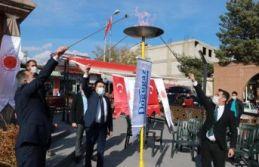 Ahlat'ta Doğalgaz Ateşi Yakıldı