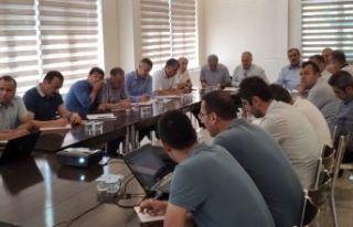 Ahlat'ta Milli Eğitim Müdürleri Toplantısı...