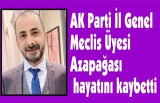 AK Parti İl Genel Meclis Üyesi Azapağası hayatını...