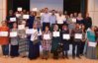 AHLAT'TA 60 GİRİŞİMCİYE BELGELERİ VERİLDİ