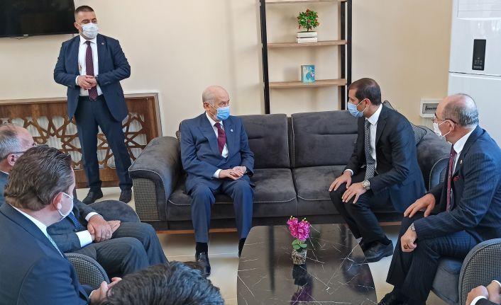 MHP Lideri Bahçeli Ahlat'ta